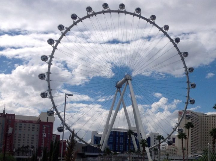The World's Largest Observation Wheel located on the Las Vegas Strip