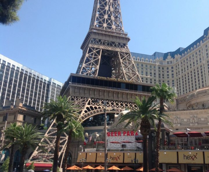 The Eiffel Tower, at the Paris Resort, highly recommended by the Vegas Visitor
