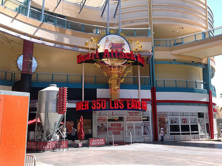 Heart Attack Grill, Downtown Las Vegas