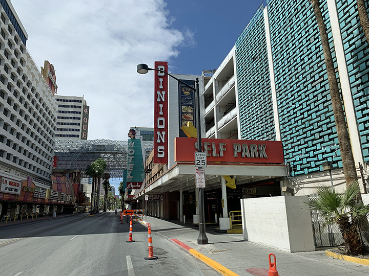 Binion's Hotel, one of the oldest and Best in Las Vegas