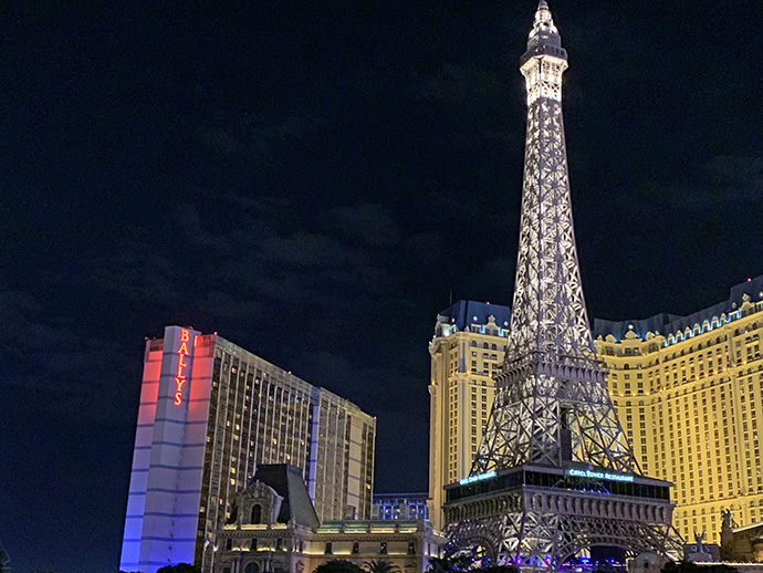 Eiffel Tower, Paris, Las Vegas